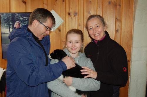 Kjell Arne, Kaja, Anita og Salto